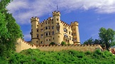 Touring Hohenschwangau castle in Bavaria, Germany - YouTube
