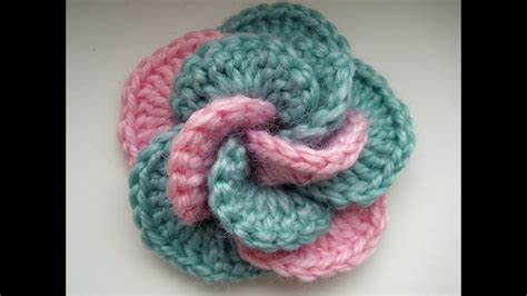 crochet flower tutorial youtube