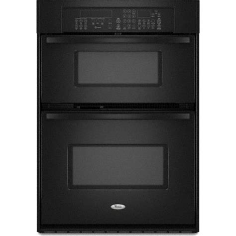 whirlpool gscpvb  built  microwave combination double wall oven   cu ft oven