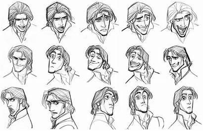 Tangled Artist 02b Character Expressions Flynn Rider