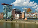 Media Harbour in Dusseldorf, North Rhine-Westphalia ...