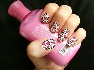 Pink Leopard Print Nail Art by Animalluver1985 on DeviantArt