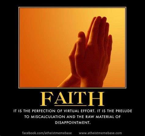 Faith Meme - funny atheist quotes quotesgram