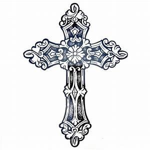 Kreuz Tattoo Arm : comprar 1 unids grande fresco mens cruz tatuajes hermoso brazo volver cruz ~ Frokenaadalensverden.com Haus und Dekorationen