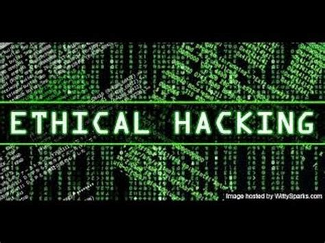 Ethical Hacking For Beginners Youtube