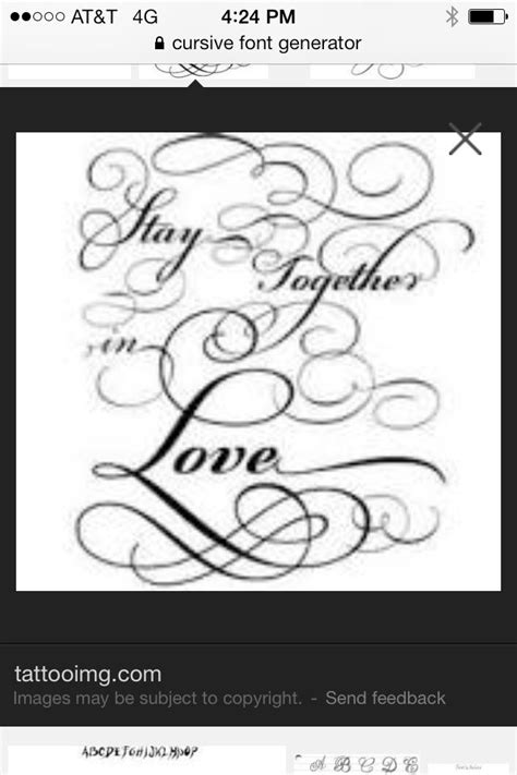 Tattoo font | Tattoo lettering fonts, Cursive font generator, Tattoo designs