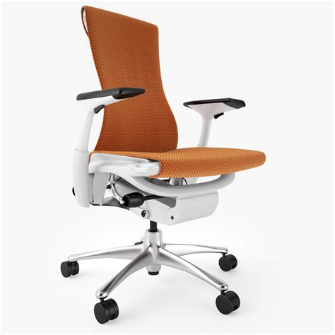Office Chairs Top by Top 5 Best Ergonomic Office Chairs 3d Model Max Obj Fbx