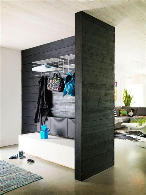 meuble pour separer cuisine salon faire de entrée un espace chaleureux et accueillant