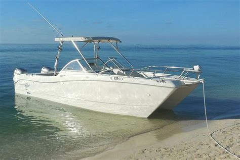 Key West Overnight Boat Rentals by Rent A World Cat 250dc 27 Motorboat In Key West Fl On Sailo