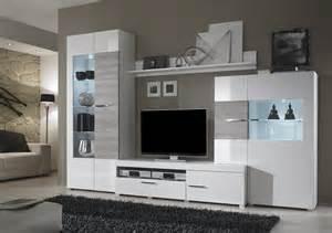 wohnzimmer weiãÿ wohnwand weiß grau bestseller shop für möbel und einrichtungen