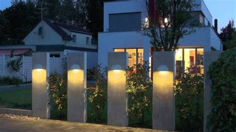 modern outdoor lighting sconces  fun evenings
