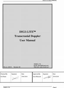Intra View Digi Lite User Manual Rev26
