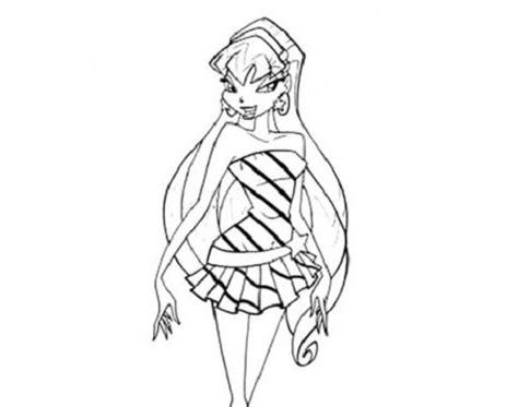 disegni da colorare winx stella disegni da colorare stella butterflix winx club mamme