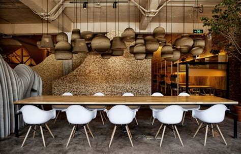textured cafe interiors beijing cafe design