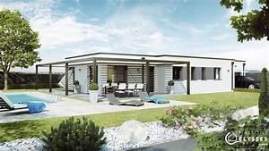 Maison Moderne Toit Plat : pergola maison contemporaine toit plat avec pergola ~ Nature-et-papiers.com Idées de Décoration