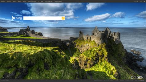 Bing Home Page Images Go High Definition, Add Captions & Add Features  Search Engine Land