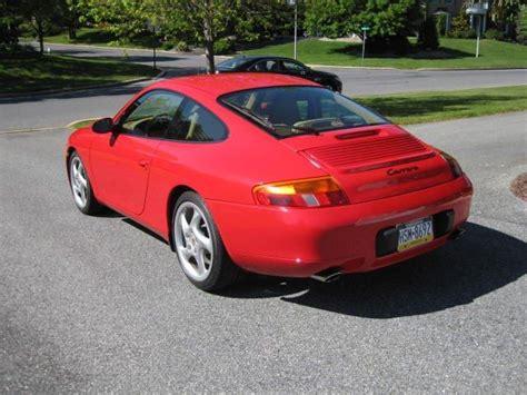 1999 Porsche 996 C2  Guards Red