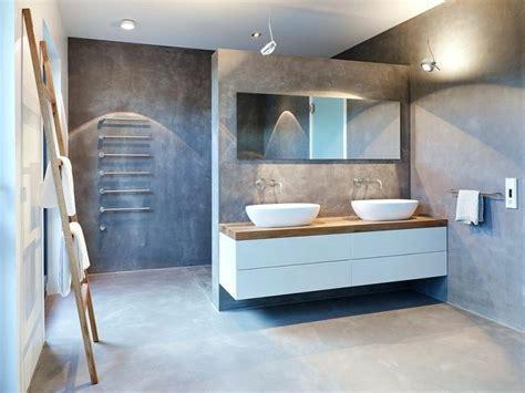 Modernes Badezimmer Beton by Badezimmer Betondecke
