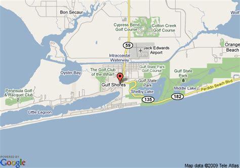 map  la quinta inn gulf shores gulf shores