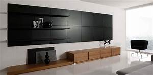 Wonderful minimalist living room ifresh design for Modern cabinets for living room