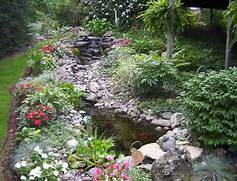 Water Garden Water Gardens Backyard Waterfalls Gardens Bali Garden Ponds