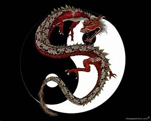 Free Dragon Art Wallpaper   Chinese Red Dragon, free ...