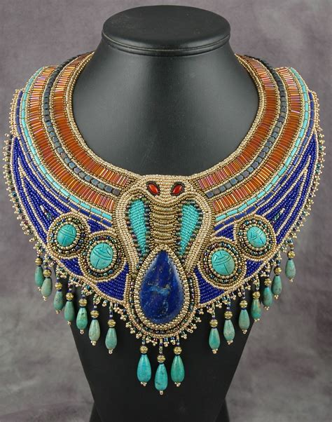 throwing paint on it: Egyptian-Inspired Jewelry on Etsy