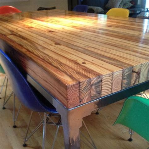 butcher block dining table plans google search house