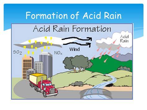 how to form acid rain environmental chemistry acid rain ppt video online download