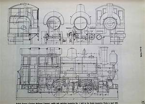 Steam Locomotive Diagram Illustration Schematic 0