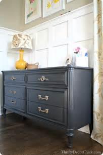 distressed black kitchen island black and brass from thrifty decor