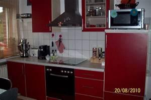 Rote Arbeitsplatte Küche : moderne rote jahre alte k che in m nster m bel und haushalt kleinanzeigen ~ Sanjose-hotels-ca.com Haus und Dekorationen