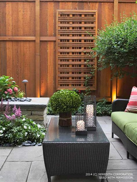 Backyard Privacy Landscaping by Backyard Landscaping Ideas For Privacy Better Homes And