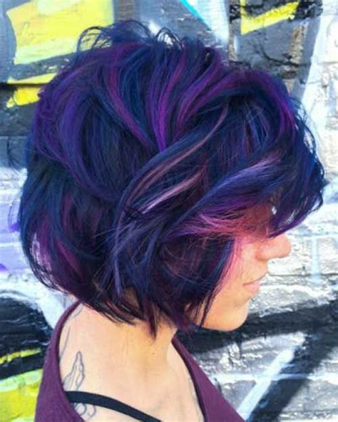 Pin By Rachel Sawyer On Hairstyles I Heart Purple Hair