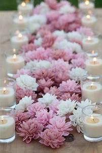 decoration mariage champetre plus de 50 idees originales With chambre bébé design avec chemin de table fleuri mariage