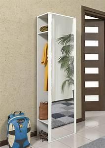 Weißer Lack Für Möbel : garderobe schrank f r diele und flur wei spiegel neu ~ Michelbontemps.com Haus und Dekorationen