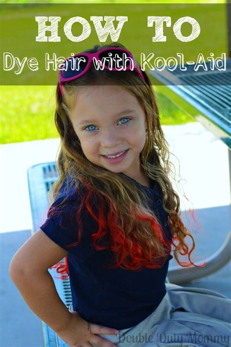 Kool Aid Dyes And How To Dye Hair On Pinterest
