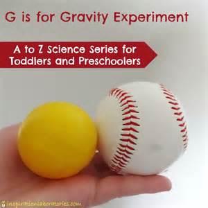 Preschool Science Experiments of Gravity