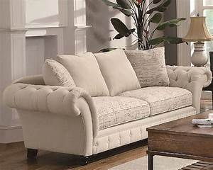 Coaster, Traditional, French, Style, Sofa, Willow, Co