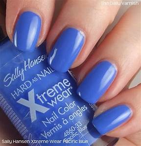 Sally Hansen Xtreme Wear Pacific Blue The Daily Varnish
