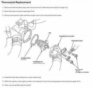 Coolant Replacement And New Thermostat