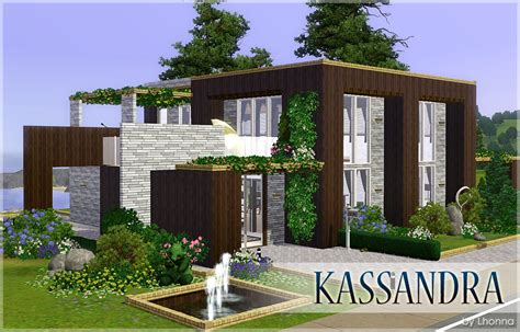 Mod The Sims  Kassandra  Medium, Modern House For A Couple