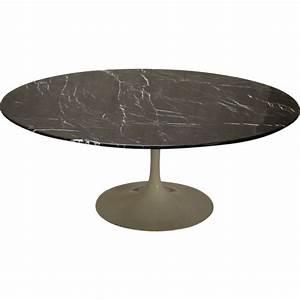Table Basse Tulipe : table basse tulipe marbre noir de eero saarinen pour ~ Teatrodelosmanantiales.com Idées de Décoration