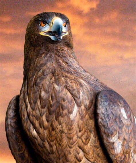 floyd scholz master carver golden eagle carving genghis