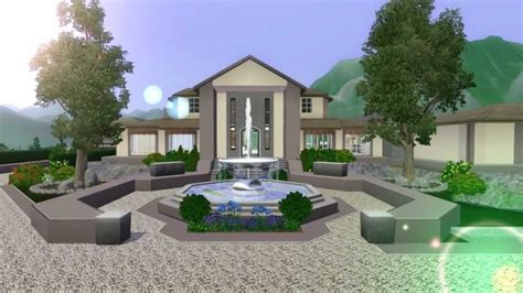 The Sims 3 Mansion Design (ranch) No Custom Content Doovi