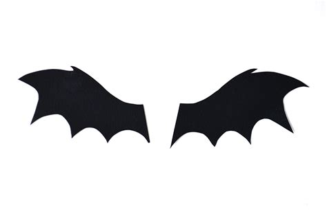 Toilet Paper Roll Bat Wing Template by Mollymoocrafts 5min Craft Toilet Roll Bat Buddies