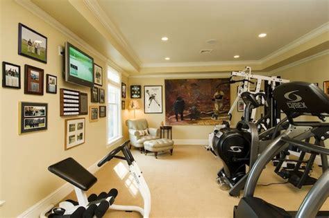 Creative Ways To Make Your Home Gym Inviting & Productive. Shoe Cabinet. Dark Wood Dining Table. Slate Kitchen Floor. Painting Exposed Basement Ceiling. Shiny Tile Floor. Southcypress. Kitchen Cabinets. French Oak Flooring