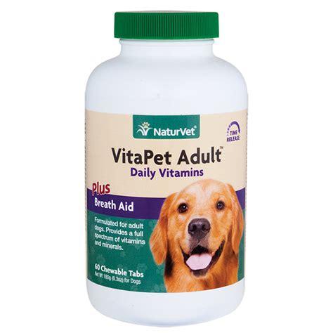 vitapet adult daily vitamins chewable tablets naturvet