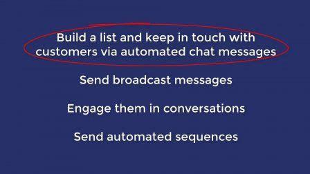 facebook messenger marketing manychat intermediate