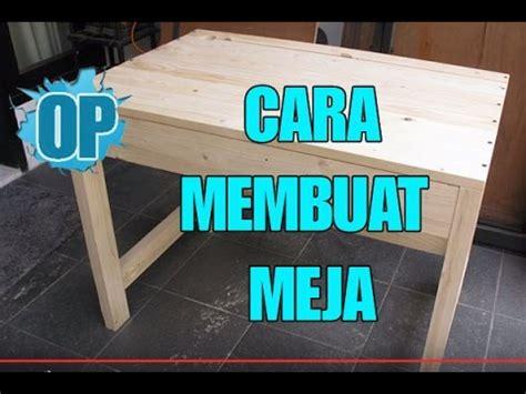 tutorial  membuat meja  kayu jati belanda youtube